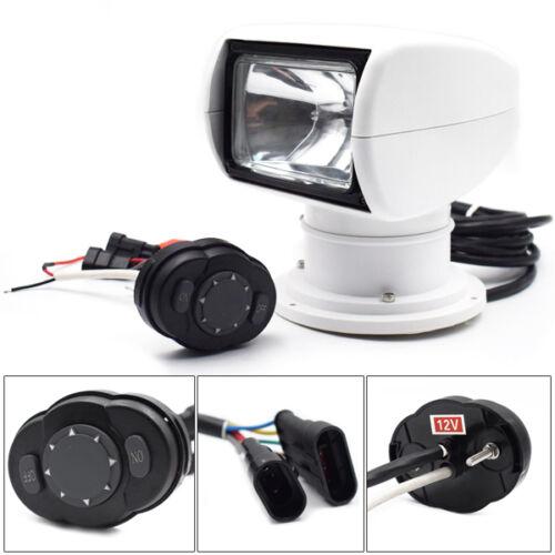 Remote Control Spotlight SUV Car Marine Searchlight 12V 100W Bulb Exquisite
