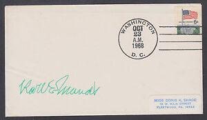 Karl E. Mundt, US Senator & Congressman from South Dakota, signed 1968 cover