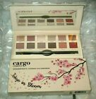 Cargo Cosmetics Tokyo in Bloom Eyeshadow Palette 12 Shadows Dual-ended Brush