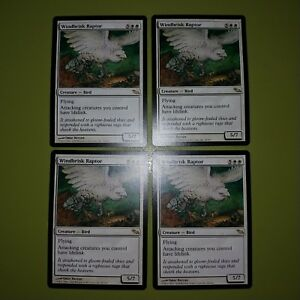 Windbrisk-Raptor-x4-Shadowmoor-4x-Playset-Magic-the-Gathering-MTG
