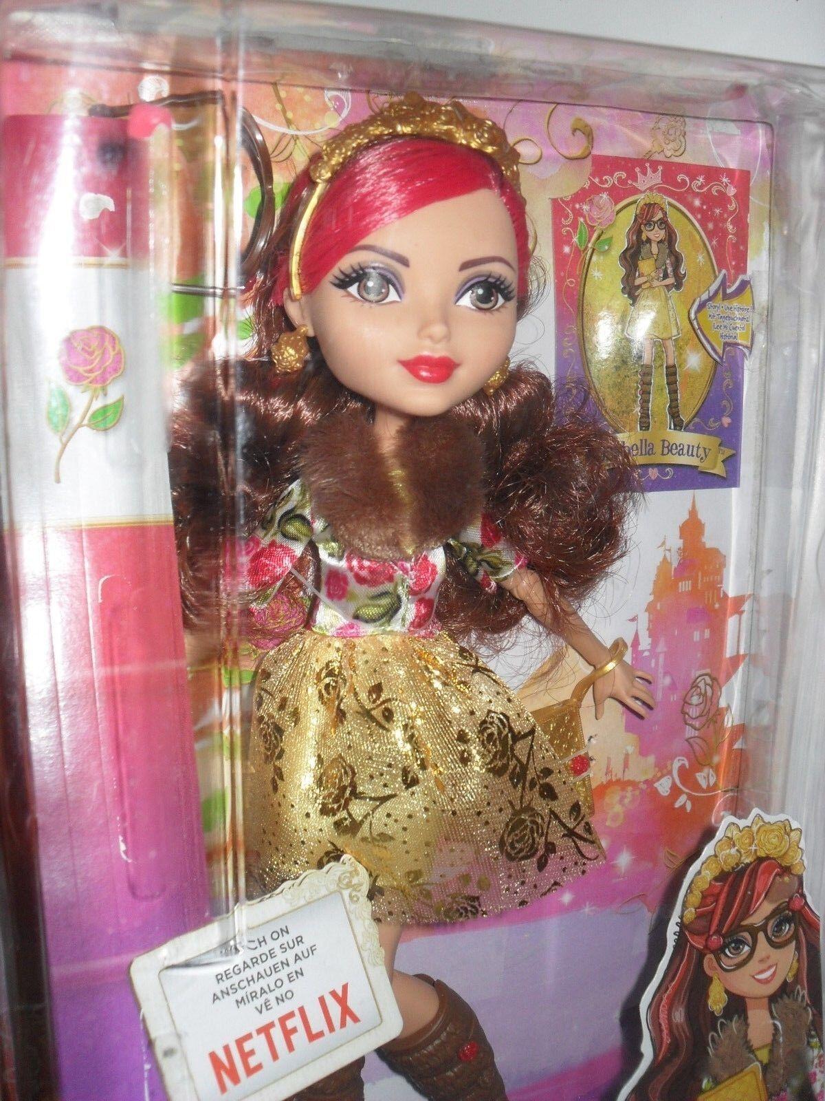 Ever After High Puppe Barbie  Rosabella Beauty  mit Brille von Mattel CDH59