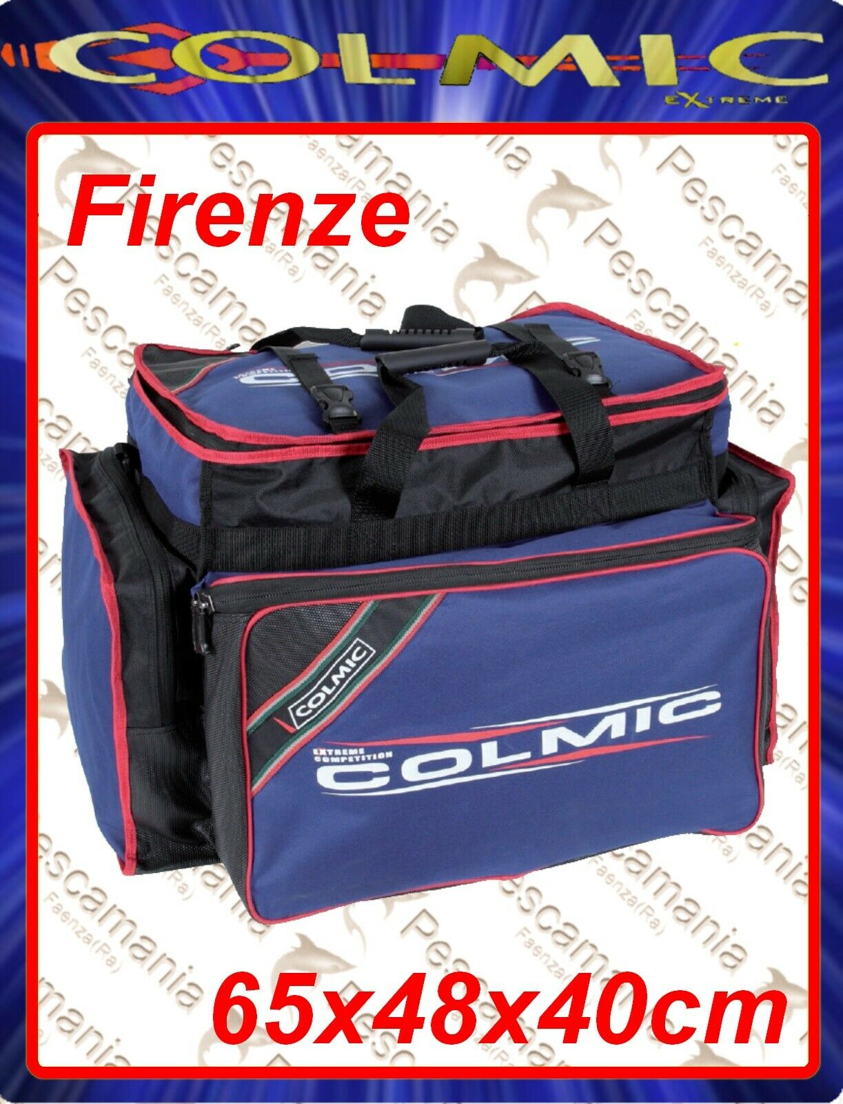 Borsa Colmic Extreme Competition Firenze rosso series