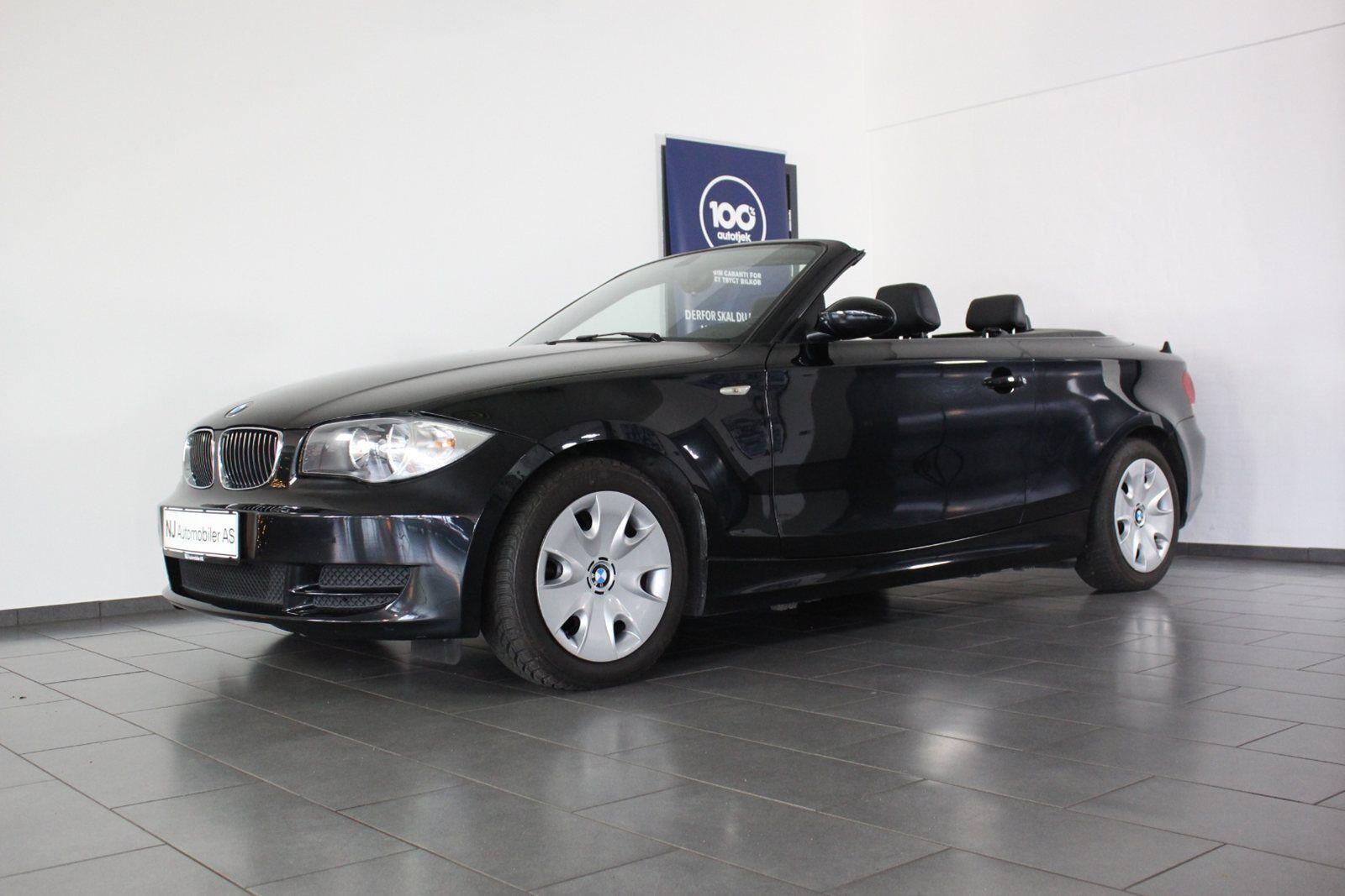 BMW 120i 2,0 Cabriolet 2d