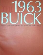 1963 Buick Sales Brochure Literature Dealer Advertisement Features Options Color