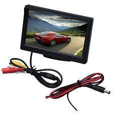 """5"""" LED Backlight Color TFT LCD Monitor HD 800X480 pixels Auto Screen 2ch Video"""