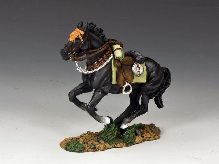 KING AND COUNTRY AUSTRALIAN LIGHT HORSE Galloping Horse   2 AL48 AL048