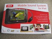 Brand Rca Mobile Sound Speaker System & Wireless Headphones Rpd663