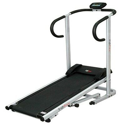 Lifeline -treadmill manual foldable run jogger machine 4 home gym fitness --