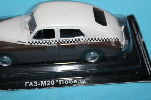 DEAGOSTINI RUSSIAN LEGENDS RA3-M20 No 6EA TAXI  1:43 SEALED ON BLISTER PACK