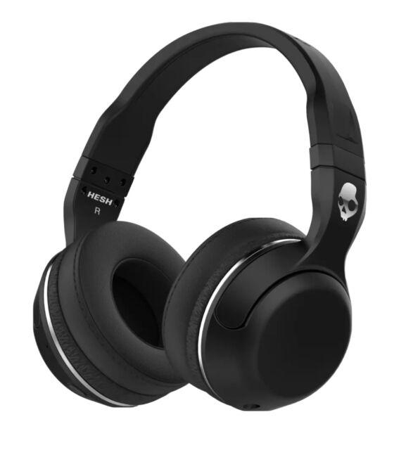 Skullcandy Hesh 2 Bluetooth Wireless Headphones Black-distressed Packaging