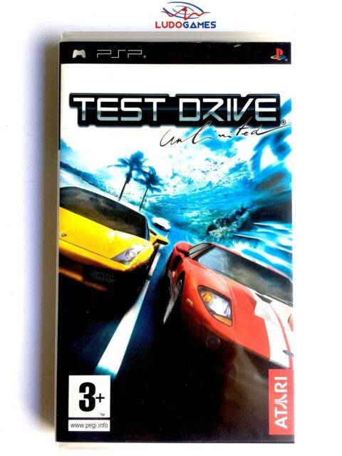 Test Drive Unlimited PSP Juego Completo Playstation Retro Videojuego Mint State