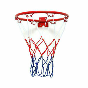 32cm-Wall-Mounted-And-Netting-Metal-Hanging-w-Goal-4-Rim-S-M8K2