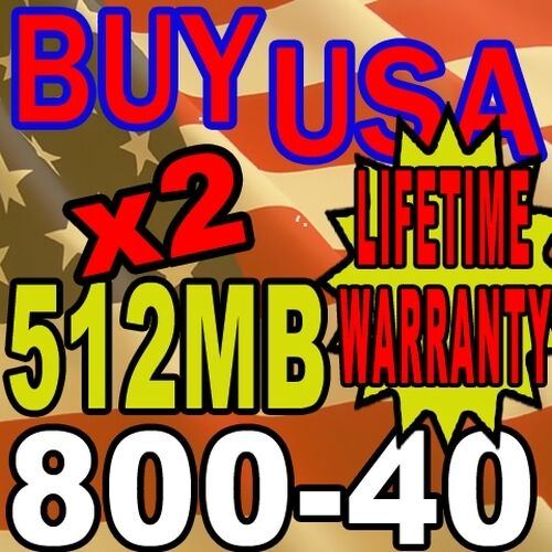 ASUS P4T P4T533-C P4T-E 1GB 2X 512MB RAM MEMORY