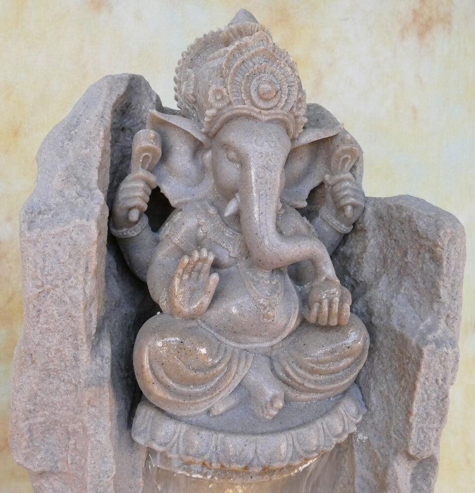 Zimmerbrunnen Springbrunnen Wasserwand Tischbrunnen LED Kaskade Ganesha Ganesha Ganesha DW04-a c594f8