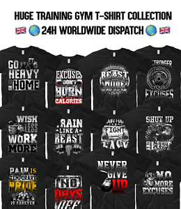 Details About Gym T Shirt Ufc Training Workout Mma Cardio Muscle Beast Mode Fitness Gym Freak