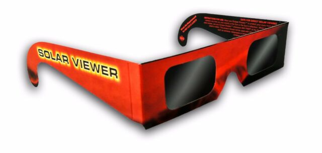 x10 solar eclipse viewer black polymer shades glasses thousand oaks ...