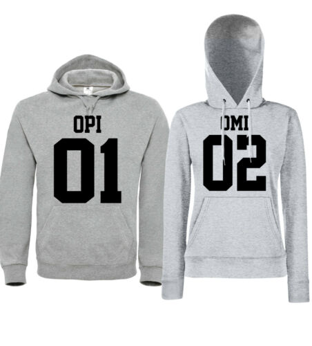 Grandma Omi Parents Grandpa Hoodies Anniversary Opi Partner Grandson Retiree t1Hwnq