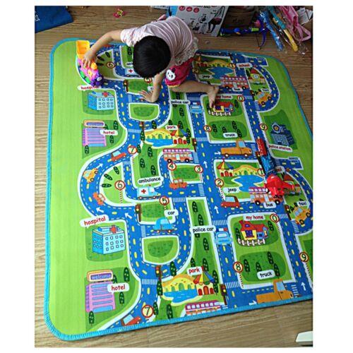 Kinder Spielmatte Baby Spielen Kriechen Teppich Decke Spielzeug Verkehr Stadt
