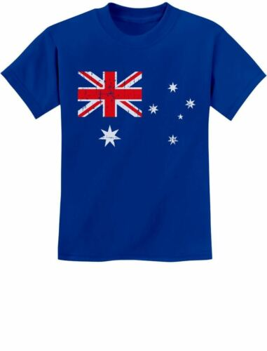 Australian Flag Vintage Style Retro Australia Flag Youth Kids T-Shirt Gift idea