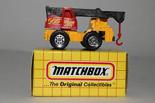 MATCHBOX MB42 MOBILE CRANE, 1:64 SCALE. BOXED