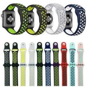 Apple-Watch-Nike-iWatch-Series-4-3-2-1-Replacement-Silicone-Watch-Band-Sports
