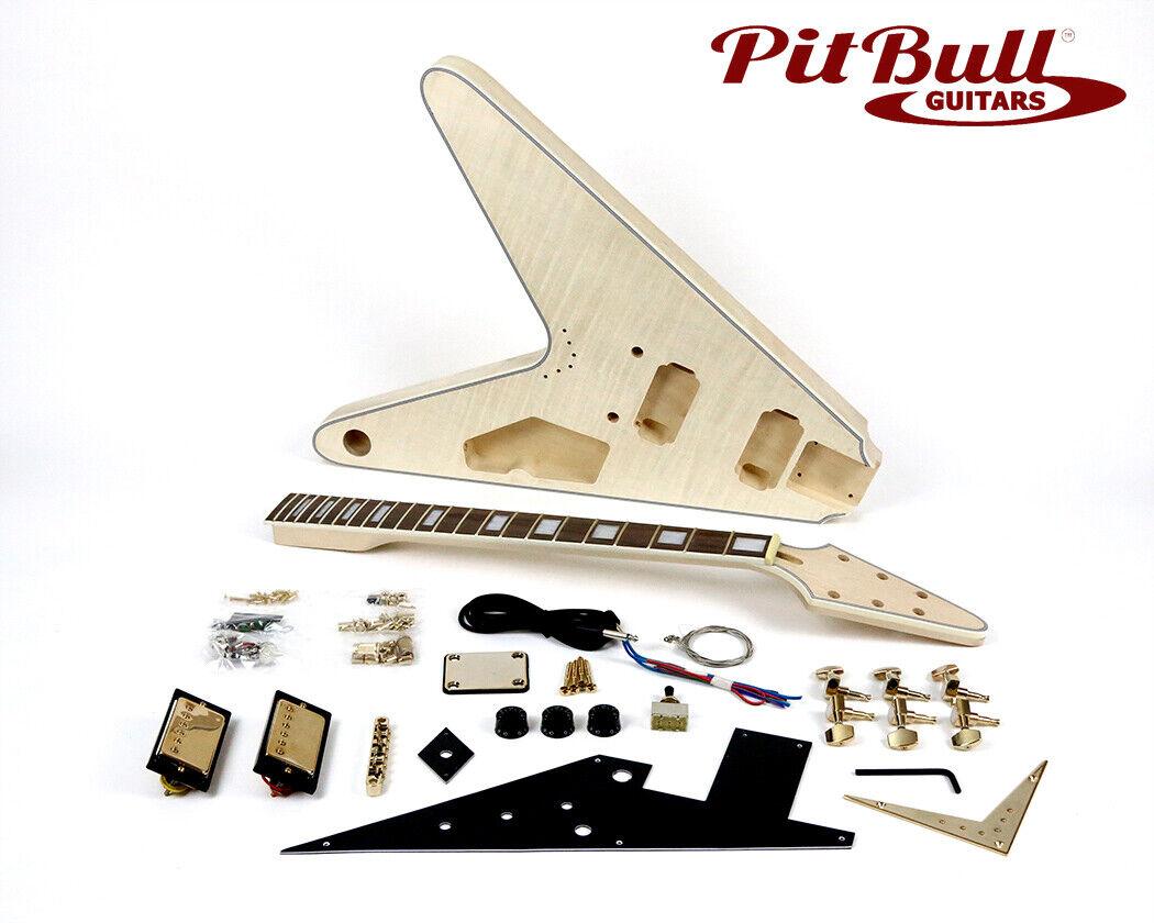 Pit Bull Guitars FV-1G Electric Guitar Kit