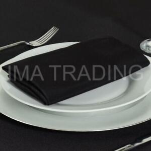 """Noir Nappe 230 cm x 330 cm, 90"""" X 130"""" pouces, 220GSM Polyester Table Cloth **"""