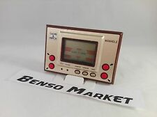 NINTENDO MANHOLE - GAME & WATCH HANDHELD CONSOLE LCD SCREEN VINTAGE 100% WORKING