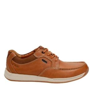 Details about Clarks Mens Javery Time Tan Leather Active Air Vent UK 7 US 8