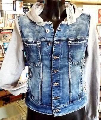 Sleeves & Hood Cotton Art Wbd19 Devoted Jacket Women's Jeans Baci & Abbracci