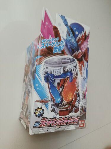 Bandai Kamen Rider Build Rabbit Tank Sparkling Full Bottle Brand New