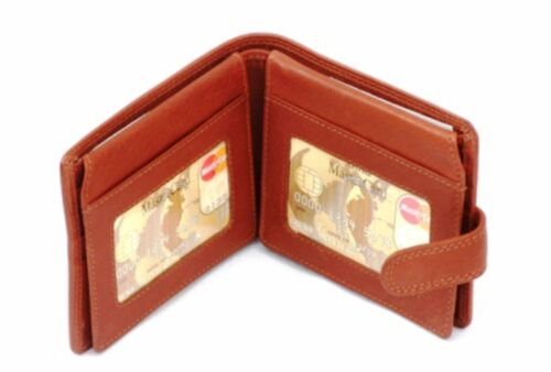 Shooter Enamel Leather Wallet BLACK or Brown Shooting  Gift