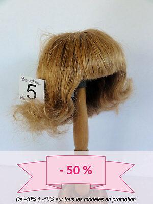 -50% Promo - Parrucca Bambola T5 (25.5cm) Capelli Ricci -bambola Wig Risparmia Il 50-70%