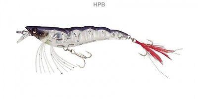 "Yo Zuri Shrimp Crystal Jerkbait 3d f987-hpb 2 3//4/"" 1//4oz Holographique Pearl Blue"