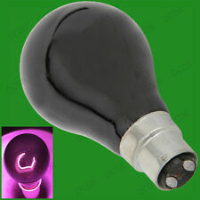 2x 75W UV Effect Blacklight BC, B22, Light Bulbs DJ Disco Halloween Effects Lamp