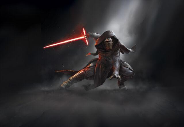 Star Wars Episode Vii Wallpaper Kylo Ren 368 X 254 Cm Komar