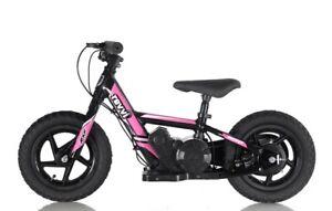 Vélo d'équilibre électrique pour enfants Revvi Twelve, roues de 12 pouces - Rose