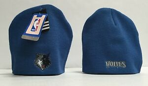 Minnesota-Timberwolves-MLB-official-Youth-Knit-Pom-Hat-Youth-New-With-Tags
