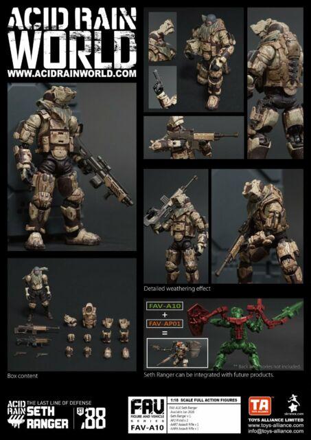 Acid Rain World x TA FAV-A10 Scale 1:18 Seth Ranger Action figure