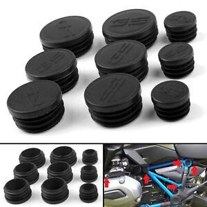 Frame-Hole-Cover-Caps-Plugs-Decor-Set-For-BMW-R1200GS-LS-ADV-2017-2018-Black-BK