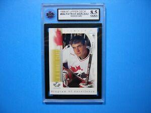 1996/97 UPPER DECK NHL HOCKEY CARD #384 PATRICK MARLEAU ...