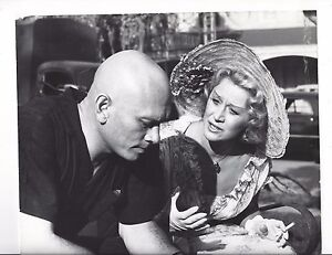 The Sound and the Fury Original Vintage Movie Photo 1959 Yul Brynner Backstage