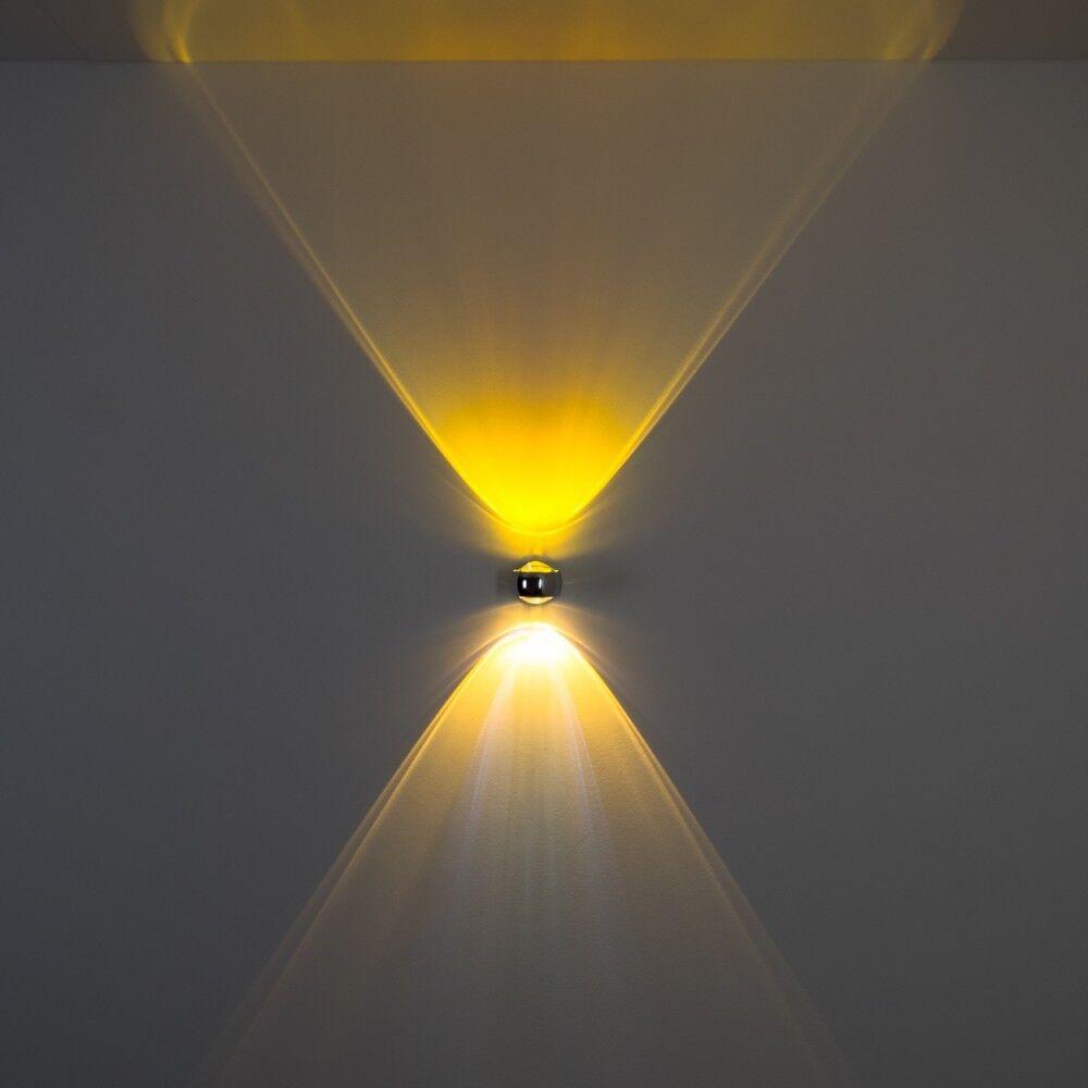 Wandleuchte Lampe Strahler Farbfilter Licht Effekt Wohn Schlaf Zimmer Flur Flur Flur gelb | Neuankömmling  e68c33