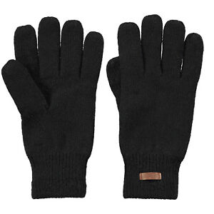 BARTS-NEW-Mens-Black-Haakon-Wool-Gloves-BNWT