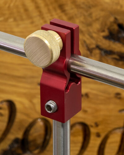 Simple Hollowing System Fully Articulating Carbide Woodturning Lathe Vessel Bowl