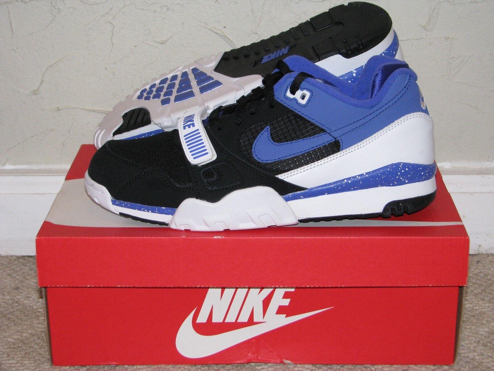 Nike air trainer 2 sonodiventate qs nero / persiano violet new!632193-001 Uomo taglia 10 s new!632193-001 violet c904fc
