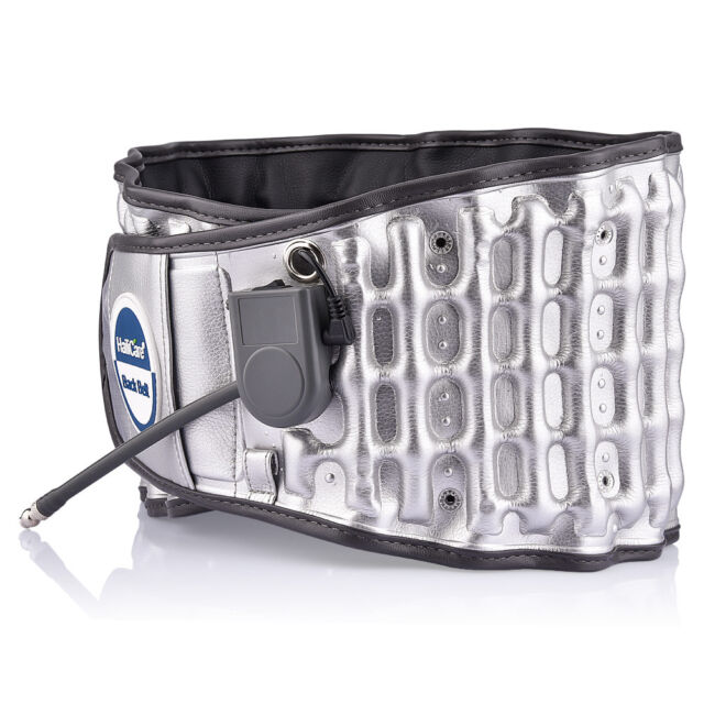 2IN1 Physio Decompression Belt Back Pain Relief Lumbar Brace Traction Heating