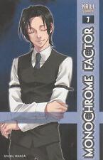 MONOCHROME FACTOR tome 7 SORANO manga josei SOLEIL gothique