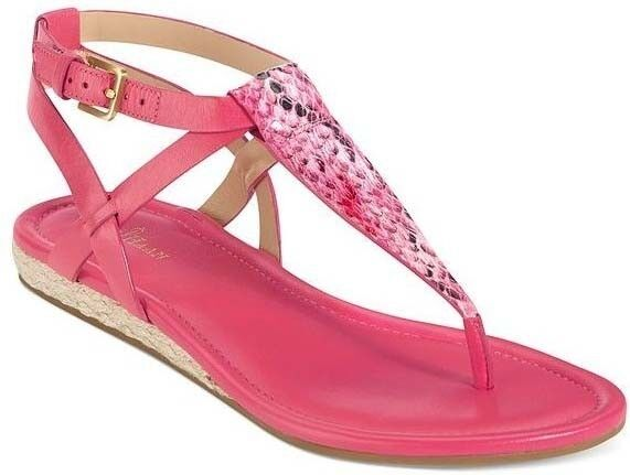 Cole Haan Grove Sandal Womens Pink Leather Sandal shoes shoes shoes 7.5 NEW IN BOX 5f66a1