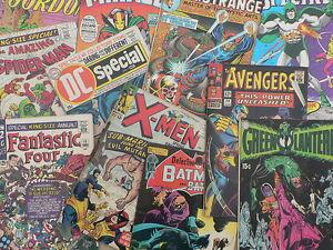 LOT-de-100-COMICS-en-langue-anglaise-DC-Comics-Marvel-et-divers-ETAT-NEUF